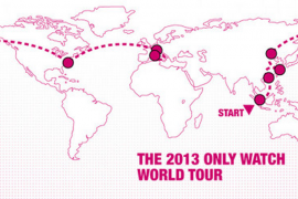 Watch world tour