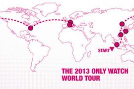 Watch world tour